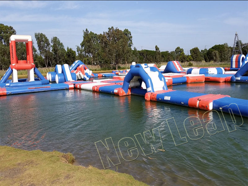 inflatable floating park