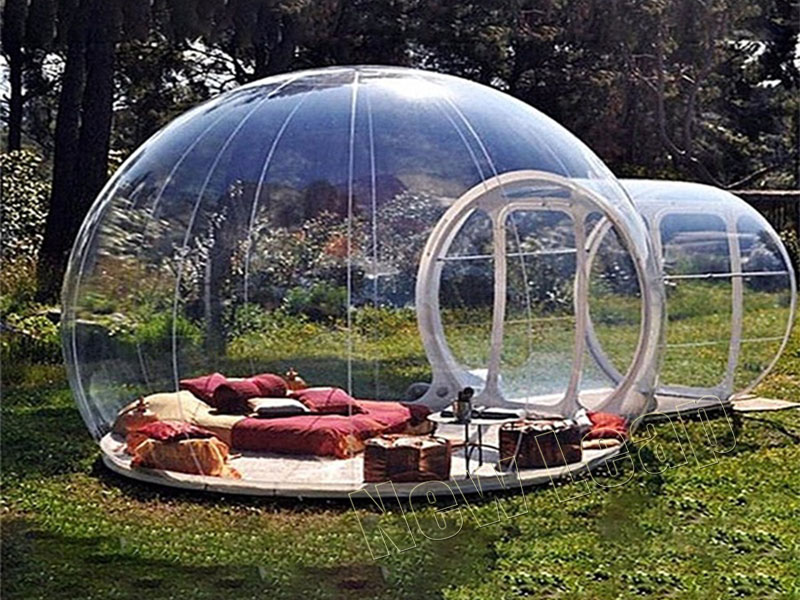 inflatable bubble tent camping