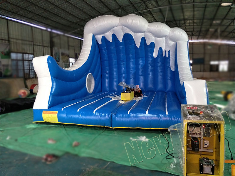 inflatable mechanical surfing