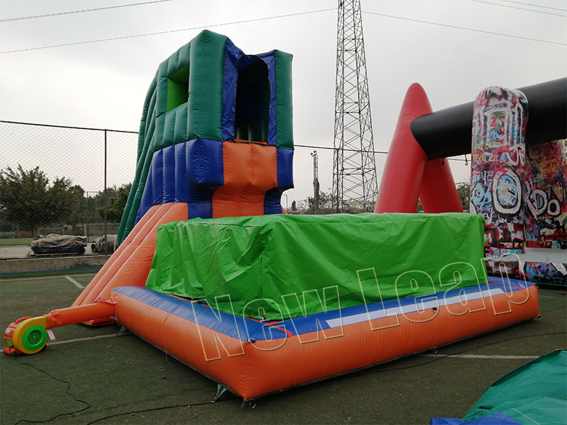 inflatable jumping airbag