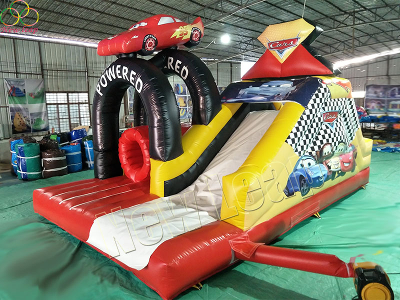 car inflatable bouncy slide
