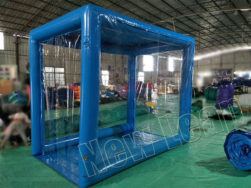 inflatable decontamination shelter