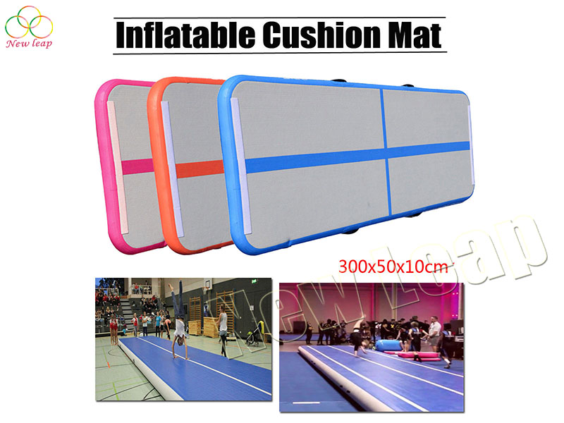 inflatable gymnastics tumbling mat
