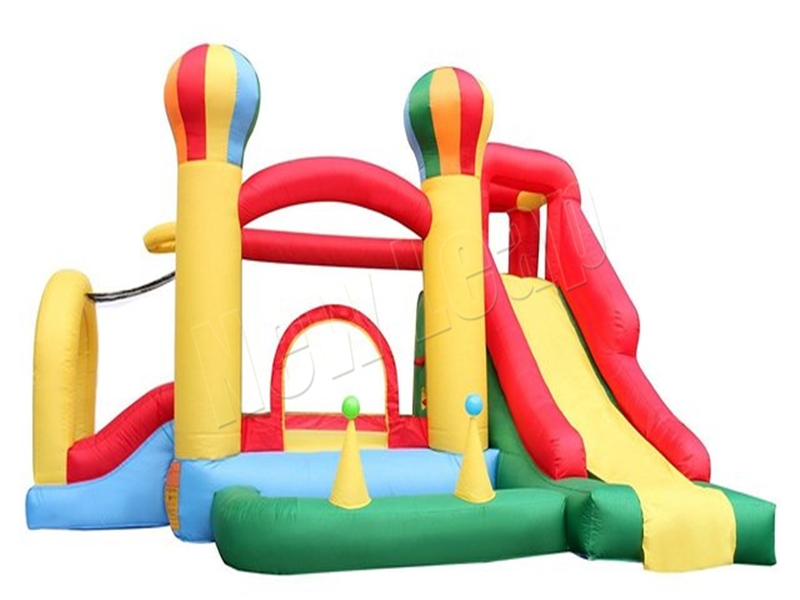 balloon bounce house with slide