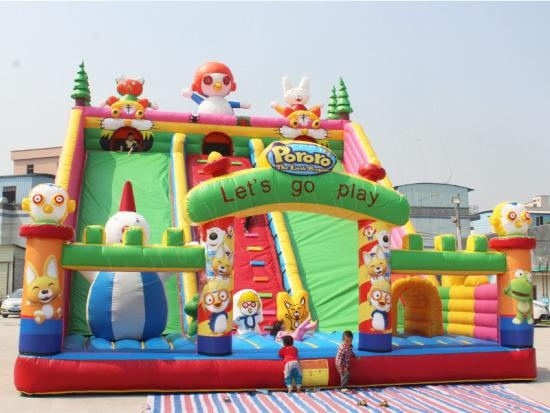 Funcity inflable enorme