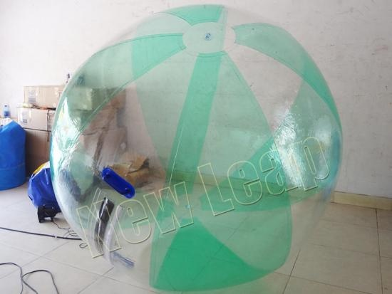 bola de agua inflable
