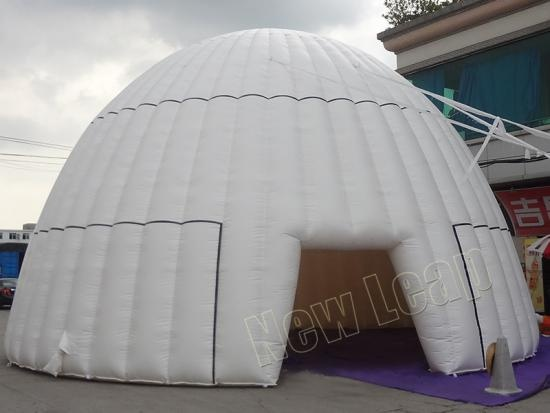 carpa domo inflable