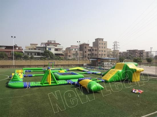 Inflatable Water Park Made