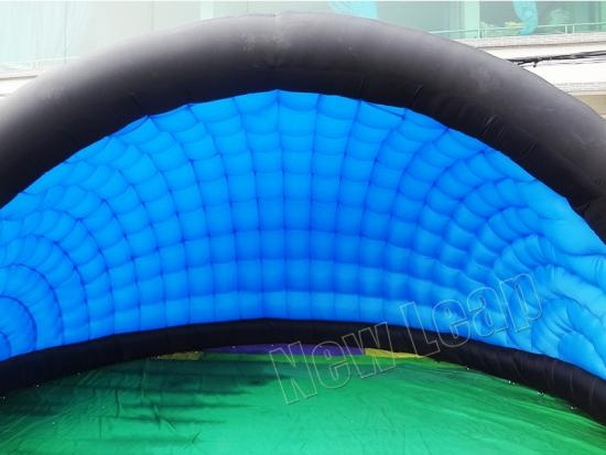 inflatable shell booth tent