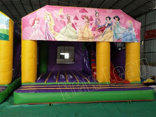 castillo inflable princesa