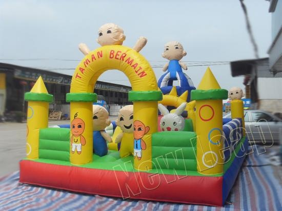 inflatable fun city playground