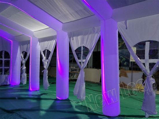 Inflatable tent Led light