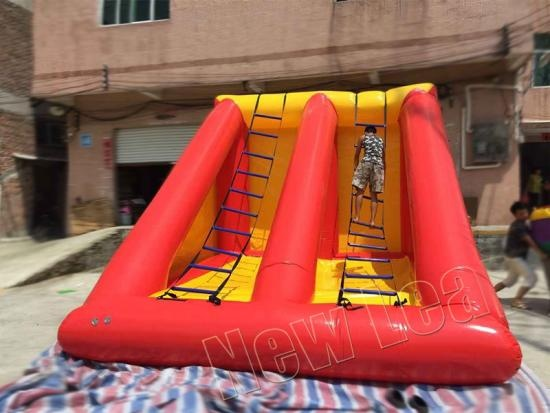 inflatable ladder climbing