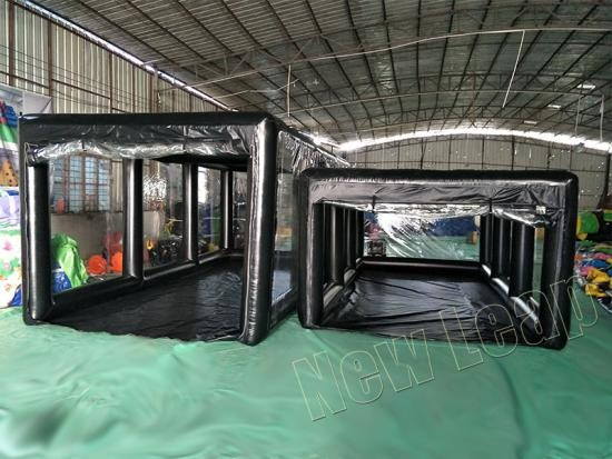 escaparate inflable del coche
