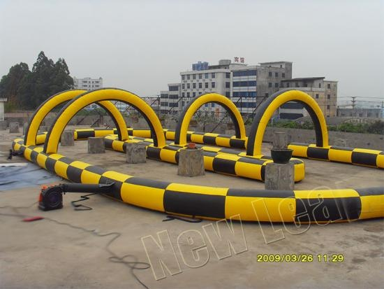 Inflatable Go Kart race track
