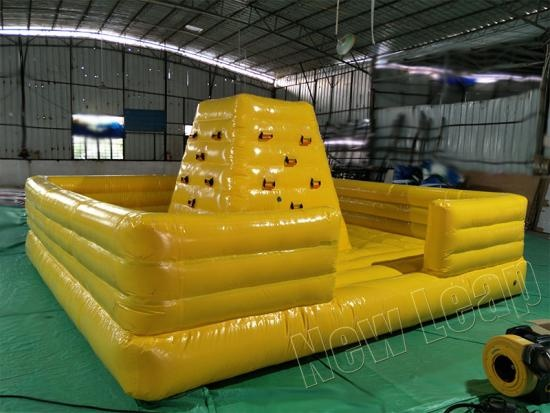 muro de escalada inflable