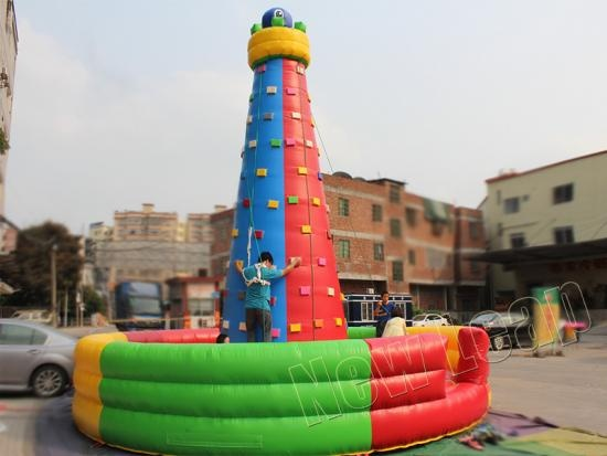 rocódromo inflable