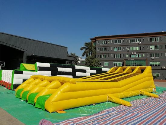 inflatable run races