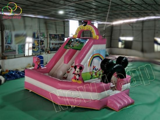 lovely girl inflatable jumping bouncer