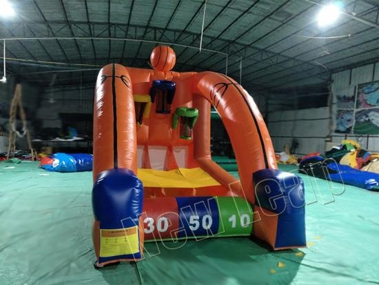 connect inflatable basketball game