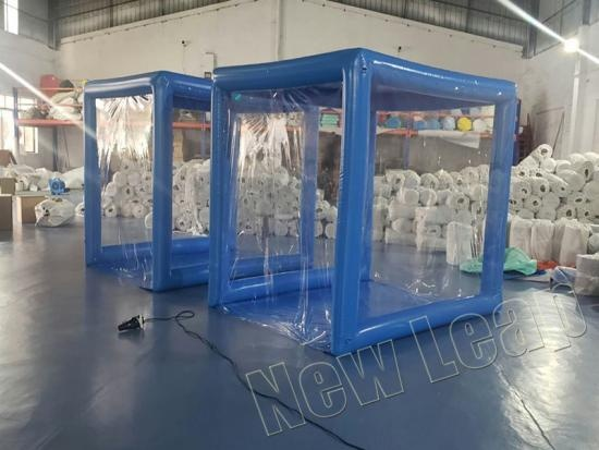 inflatable medical channel tent