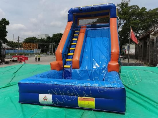 newest giant double lane slip slide