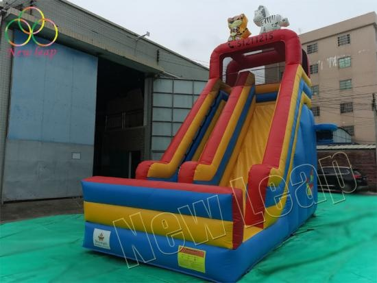 newleap factory inflatable dry slide