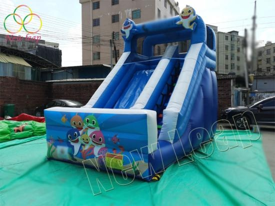 factory inflatable dry slide