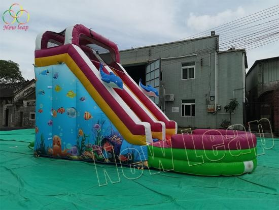 water slide inflatables factory